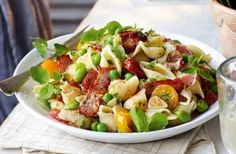 If you're on the Slimming World diet, you really must try this delicious pasta salad. Made with smoky bacon and rich tomatoes, it's hard to believe that this is a diet-friendly recipe.Save this recipe: Slimming World's bacon and roast tomato pasta