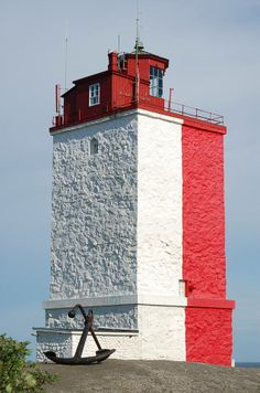 Utö lighthouse Southern Finland by MaijaErkolahti by kellie Lighthouse Pictures, Beacon Of Light, Water Tower, Am Meer, Archipelago, Architecture, Beautiful Places, Castle, Around The Worlds