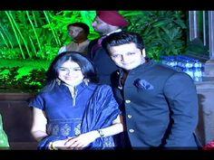 Bollywood actor Riteish Deshmukh with his HIGHLY pregnant wife Genelia D'souza attended Salman Khan's sister Arpita Khan and Aayush Sharma's wedding receptio. Gossip, Interview, Joker, Videos, Music, Youtube, Musica, Musik, Jokers
