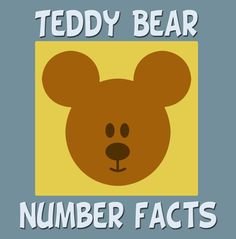 Teddy Bear Number Facts