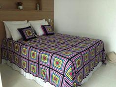 Crochet Bedspread Pattern, Crochet Patterns, Bed Spreads, Blanket, Handmade, Furniture, Home Decor, Bedroom Ideas, Farmhouse Rugs