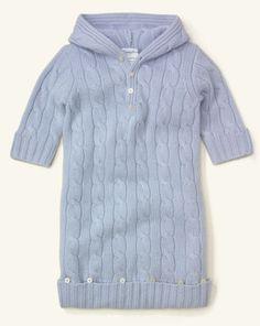 Cashmere Hooded Bunting - Baby Boy Outerwear & Jackets - RalphLauren.com