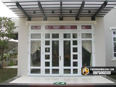 Balcony, Garage Doors, Sweet Home, Windows, Outdoor Decor, House Interiors, Home Decor, Bathroom, Driveway Gate