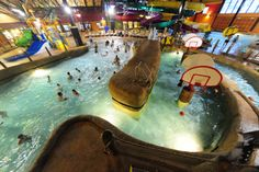 Dive into a tropical adventure with the entire family at Kahuna Laguna, northern New England's first indoor water park at the Red Jacket Mountain View Resort in North Conway, NH. It's 40,000 square feet of splash-tacular fun!