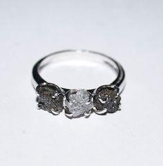 Zhiya Diamonds, raw diamond ring, $110, available at Zhiyadiamonds.
