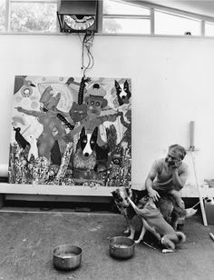"Roy Deforest, Black  White Photography, 1980, 18"" x 24"" Kurt Fishback - Art in Residence"