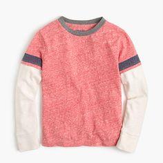J.Crew+-+Boys'+layered+stripe+T-shirt
