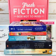 Fresh Fiction is a monthly book subscription that sends 5 to 7 books for $25.95 a month. Check out my June 2017 review!