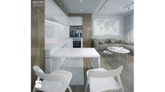 Minmal Krk - Kuchnia, styl minimalistyczny - zdjęcie od SWSTUDIO