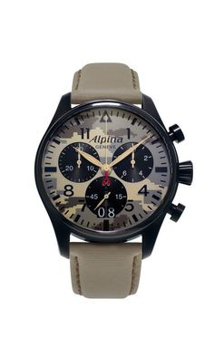 Alpina Watch Startimer Pilot Camouflage Special Edition AL-372MLY4FBS6
