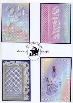 Dorothy Holness - Pattern Pack 1 - Card Downloads