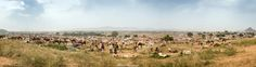 Panoramic Pushkar - This is a 9-shot panoramic view of the Pushkar Fair 2013
