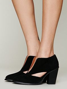 Free People Deep V Ankle Boot