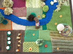 Waldorf Story Blanket Playscape ideas
