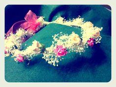 Corona en crudo y rosa chicle