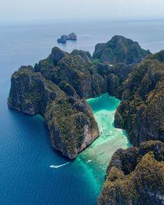 At Phi Phi island, Thailand.
