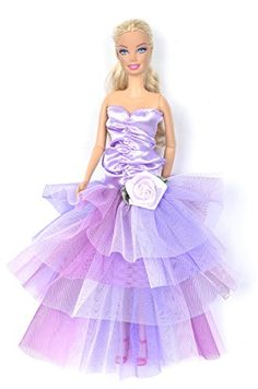 Banana Kong Dolls Fashion Strapless Layered Evening Dress Strapless Doll dress with Colorful layers lace skirt,Excellent quality dresses.Back with nylon buckle design, easy to put on and take off,This gorgeous and elegant weddin (Barcode EAN = 0700587941221) http://www.comparestoreprices.co.uk/barbie-dolls/banana-kong-dolls-fashion-strapless-layered-evening-dress.asp