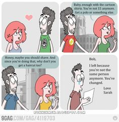 Woman's Logic in Relationship