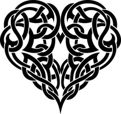 Meaningful Tattoos Ideas – Celtic Heart Tattoo Ornate - awesome Meaningful Tattoos Ideas – Celtic Heart Tattoo Ornate You are in the right place about dis - Tribal Heart Tattoos, Celtic Knot Designs, Celtic Patterns, Celtic Tree, Celtic Tattoos, Irish Tattoos, Stock Image, Meaningful Tattoos, Tattoos With Meaning