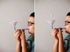 Floating Ball Activity – All for the Boys - Kinderspiele Kid Science, Science Activities For Kids, Stem Activities, Science Projects, Games For Kids, Diy For Kids, Cool Kids, Crafts For Kids, Science Fiction