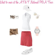 What to wear when watching Golf by absolutelydc on Polyvore featuring polyvore, fashion, style, NIKE, Lacoste, Cezanne, Coach, POLO GOLF, Sydney Love and clothing