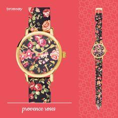 WATCHES | GITANA | WGI02 - PROVENCE ROSES #Brosway #Gitana #watch #orologio #roses #floral #Provenceroses