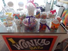 Photo 6 of 12: candy / Birthday Willy Wonka Party | Catch My Party