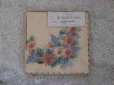 20 Baumgartens Rice Paper Silk Effect Luncheon Napkins
