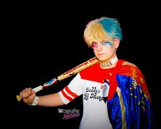 Harley Quinn. Batman. Male version. Suicide Squad. Cosplay. Costume. Carnival. Carnaval. Verkleden. Dress up. Fotografie Sarina.