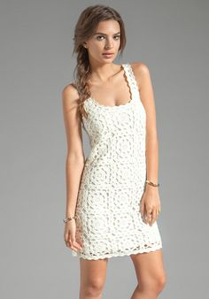 CROCHET FASHION TRENDS exclusive white crochet by LecrochetArt, $380.00