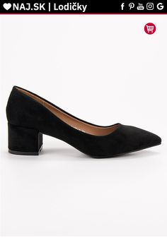 Semišové čierne lodičky s hrubým opätkom Diamantique Kitten Heels, Platform, Shoes, Fashion, Moda, Zapatos, Shoes Outlet, Fashion Styles, Shoe