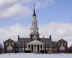 Colby College in Maine- where it all started, thanks to those 5 wonderful women!