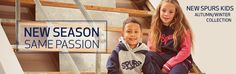 Official Tottenham Hotspur Kids Autumn/Winter collection available now. Spurs Shop, Fall Winter, Autumn, Tottenham Hotspur, Shopping Websites, Winter Collection, Free Delivery, Boys, Clothes