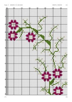 Diy And Crafts, Cross Stitch, Shabby, Knitting, Crochet Motif, Cross Stitch Embroidery, Towels, Embroidery Stitches, Chrochet