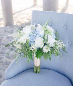 Blue Wedding Flowers beach wedding, white and blue bridal bouquet white roses, blue hydrangea, bohemian bridal bouquet Bridal Bouquet Blue, Beach Wedding Bouquets, White Wedding Flowers, Bride Bouquets, Bridal Flowers, Bridesmaid Bouquet, Floral Wedding, Blue Bridal, Wedding White