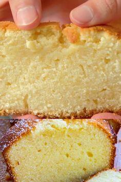 Buttery Pound Cake Recipe, Loaf Pound Cake Recipe, Cream Cheese Pound Cake, Cream Cheese Recipes, Homemade Cake Recipes, Cake Mix Recipes, Pound Cake Recipes, Baking Recipes, Cookie Recipes