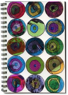 Magazines and Sharpies - Kandinsky