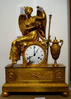 Clock Aurora (France, middle 19 c.) - French Empire mantel clock - Wikipedia, the free encyclopedia