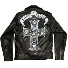 A John Varvatos x Guns N  Roses leather jacket. John Varvatos ae145a1b739f
