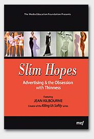 "Jean Kilbourne's award-winning video Slim Hopes argues that the stories advertising tells about food, femininity, and the female body contribute to disordered eating. From ads that glamorize emotional eating with catch-phrases like ""you can never have too much,"" to ads that promote thinness and tell women to watch what they eat, Kilbourne takes the advertising industry to task for sending young women, in particular, a set of deeply contradictory and unhealthy messages about food. (MEF)"