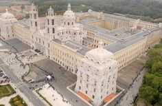 Mafra just outside #Lisbon for a real royal wow factor! - enormous, beautiful, full of literal superlatives & almost in the   middle of nowhere!