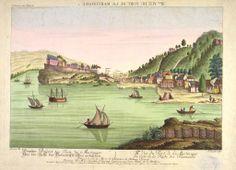 """vue du fort de fort-de-france du cote de la rade des flamands"""