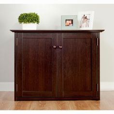 Comfort Products Coublo TV Stand - Mocha Brown Oak - 60-COUB2028