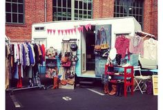 The Country's Coolest Mobile Fashion Trucks : Lucky Magazine Repurpose campers and park it! Popup Republic