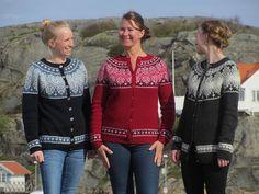Ravelry: Bohusstjärnan / The Bohus Star pattern by Madeleine Bergh Norwegian Knitting, Fair Isle Knitting Patterns, Star Patterns, Knit Cardigan, Girl Dolls, American Girl, Knitwear, Ravelry, Tunic Tops