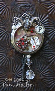 Iris Garden: Inspiration Emporium Pocket Watch