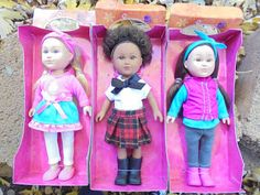 Sissy Beth's Doll Corner: My Life Mini Dolls Review - Loving the little stuf...