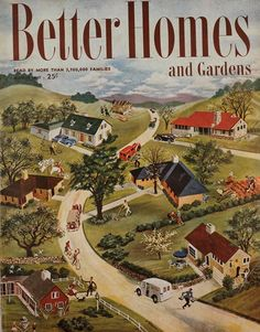 Vintage BHG Covers: March1947 - A special memory for me since this is the issue my mother would have been reading when she became pregnant with me.