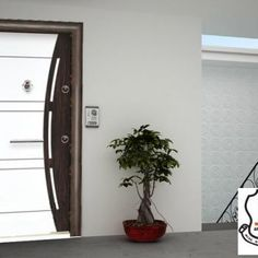 U-602 Security Door, White Doors, Lebanon, Ladder Decor, Stuff To Buy, Home Decor, Woodwind Instrument, Decoration Home, Room Decor