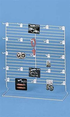 Wire Countertop Rack With 24 Peg Hooks